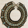 Egyptian beaded scarab necklace from 1993