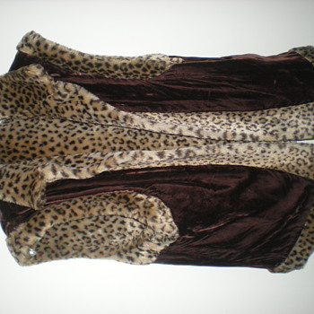 Faux Cat Rversible Vest made For The Cold - Womens Clothing