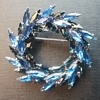 Napier wreath brooch