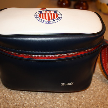 1972 Munich Olympics Kodak Camera Bag - Cameras