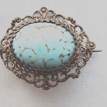 Bohemian brooch - help please!  - Costume Jewelry