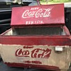 Old Mexican Coca Cola cooler