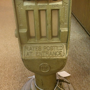 Parking lot meter? - Coin Operated