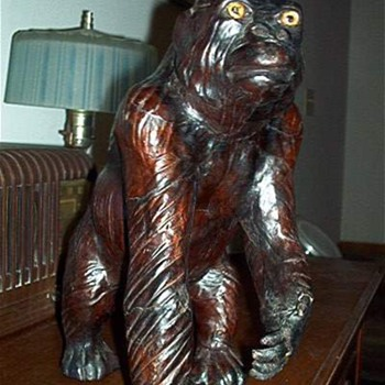 Toy Gorilla OLD Any Info Appreciated