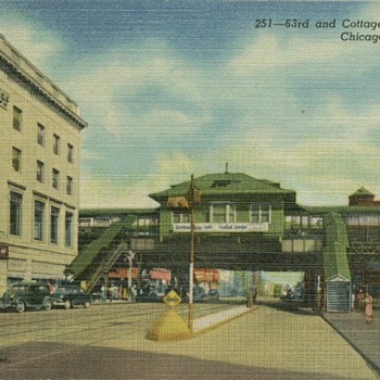 old 1950s postcard   - Postcards