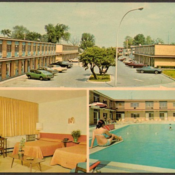 1976 - Motel Metropole Montreal Postcard - Postcards