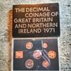 1971, Britain's first decimal coin set.