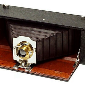 Bell's Straight Working Panorama Camera, c.1912 - Cameras