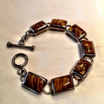 60's Sterling Silver Bracelet  - Fine Jewelry