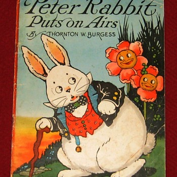1922 Edition Of Peter Rabbit Puts On Airs - Books
