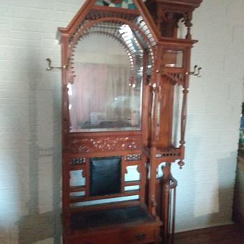 Victorian Hall Tree - Furniture