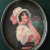 "1914"" Betty"" Girl Tray   Coca-Cola"