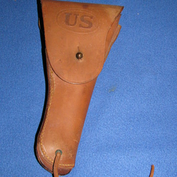 U.S. Holster 1942 Milwaukee Saddlery Co. - Military and Wartime