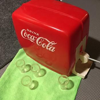 1950's Toy Coca-Cola Dispenser - Coca-Cola