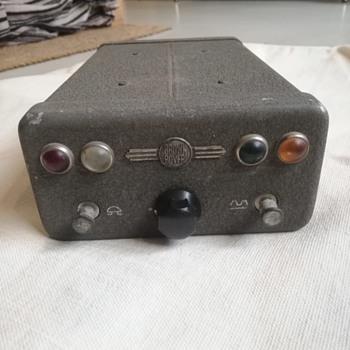 Brown Boveri - Control Station KF-23  - Radios