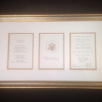 1982 Republican Senate - House to Honor President Ronald Reagan invitation