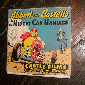 Abbott and Costello movie in box - Movies
