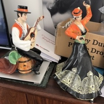 Spainish dancer and musician  - Figurines