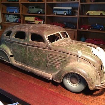 1934 Chrysler Airflow by Cor-Cor, before and after. - Model Cars