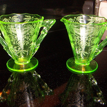 A Depression Glass Piece ? - Glassware