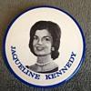 Rare 1960 Jaqueline Kennedy Campaign Button