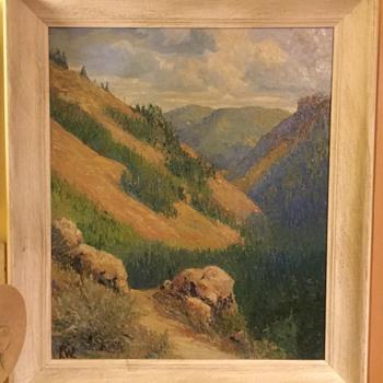 Plain air painting - Fine Art