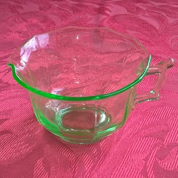 Cambridge Glass Co. creamer - Glassware