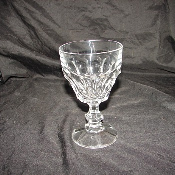 Help with 2 row Honeycomb Stemware - Glassware