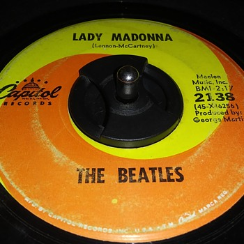 THE BEATLES (RECORDED IN MONORAUL SOUND) - Records