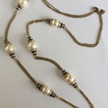 Mystery Necklace - Costume Jewelry