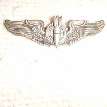 WW2 Bombadier Wings - Military and Wartime