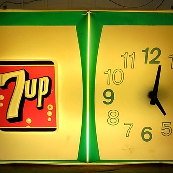 7up clock - Clocks
