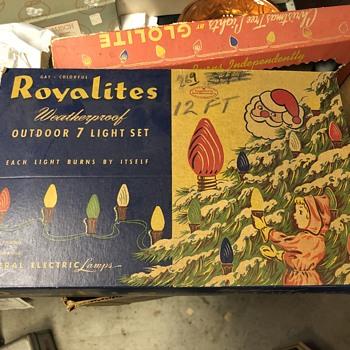 Royalights Outdoor 7 Light SetChristmas Lights - Christmas