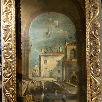 Francesco Guardi Capriccio - Fine Art