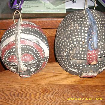 unknow masks - Folk Art