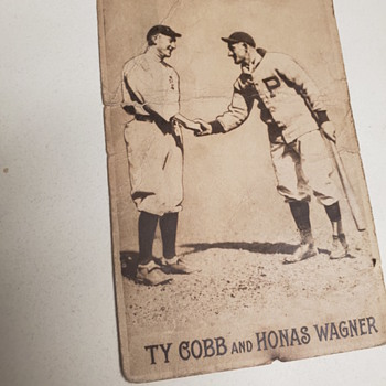 Type cobb and jonas Wagner, postcard - Postcards