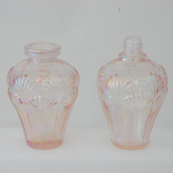 Pink Iridescent Scent Bottles - Bottles