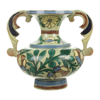 Vintage Mexican handled vase - Pottery