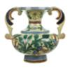 Vintage Mexican handled vase