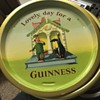 Guinness tray made in England