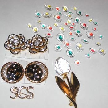 Swavorsky Crystal Pieces - Costume Jewelry