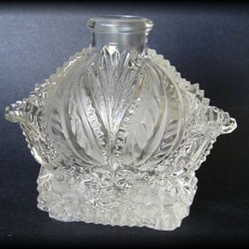 Unknown Bottle...... but ID now PERFUME BOTTLE - Glassware