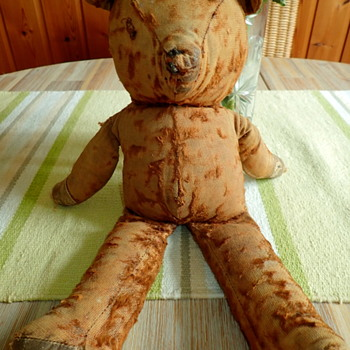 Looking for information on my 70 year old teddy - Dolls