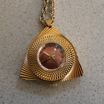 Pendant watch as prompted by Melanie - Fine Jewelry