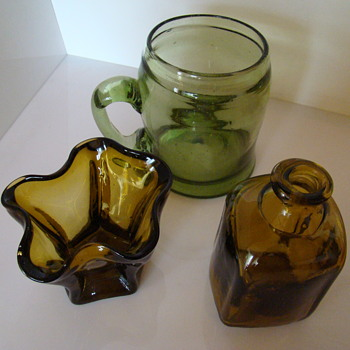 Polish studio art glass part 1