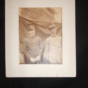 Interesting pair of Spanish American War Medical Personnel