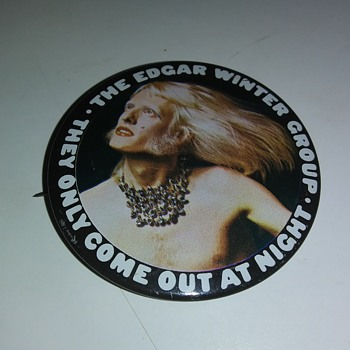 EDGAR WINTER GROUP - Medals Pins and Badges