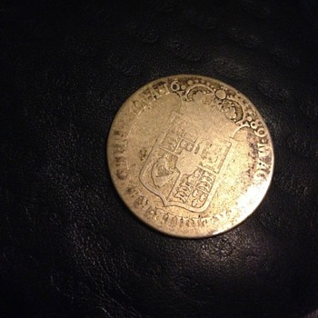 William and Mary 1689  unusual  Gold and sliver coin  Guinea!