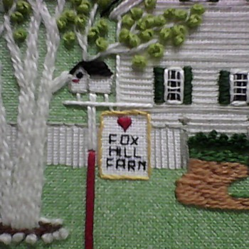 MORE SCENES OF THE FOX HILL FARM SAMPLER - Folk Art