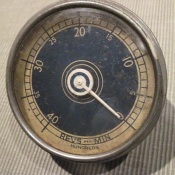 Vintage Tachometer - Classic Cars